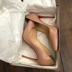 Pigalle 100mm! Christian Louboutin!